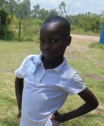 Meet Meline - Her birthday is August 1st, 2012, she loves learning and hopes to become a nurse one day. Click Meline's picture to sponsor her!