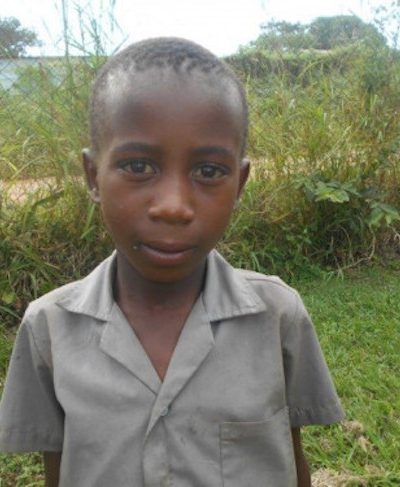Click Banele's picture to sponsor him - He is 8 years old, loves soccer and hopes to be a soldier.