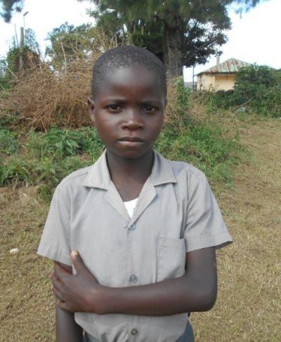 Meet Nkhosini - His birthday is May 11th, 2011, he loves rice and beans and hopes to become a soldier one day. Click Nkhosini's picture to sponsor him!