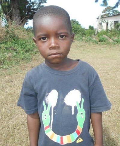 Meet Bongumusa - His birthday is June 3rd, 2015, he loves playing soccer and hopes to become a policeman one day. Click Bongumusa's picture to sponsor him!