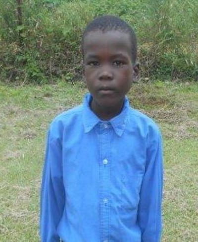 Click Bongikwanda's picture to sponsor him - He is 8 years old, loves playing and hopes to be a policeman.