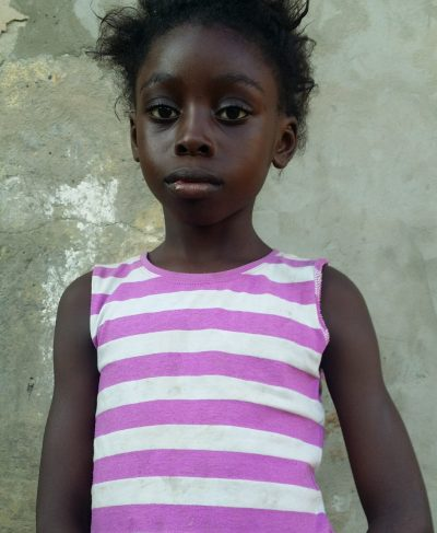 Meet Vinel - Her birthday is December 1st, 2012, she loves playing with dolls and hopes to become a seamstress one day. Click Vinel's picture to sponsor her!