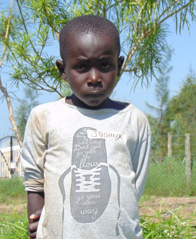 Meet Joshua - His birthday is May 5th, 2011, he loves playing football with friends and hopes to become a driver one day. Click Joshua's picture to sponsor him!