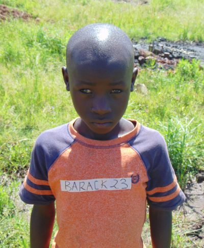 Meet Barrack - His birthday is January 12th, 2014, he loves playing with friends and hopes to become a driver one day. Click Barrack's picture to sponsor him!