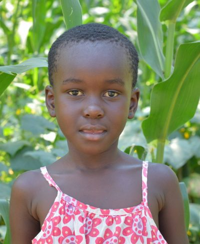 Click Miriam's picture to sponsor her - She is 6 years old, loves studying and wants to be a teacher one day!
