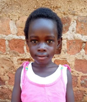 Click Desire's picture to sponsor her - She is 5 years old and wants to be a doctor so she can save lives.