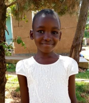 Click Shamulah's picture to sponsor her - She is 8 years old, loves to study English and hopes to be a nurse.
