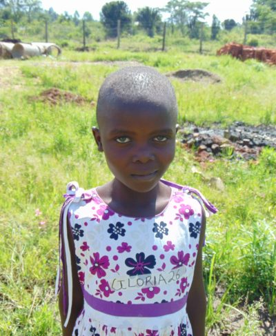 Click Gloria's picture to sponsor her - She is 10 years old, loves the CarePoint and hopes to become a driver.