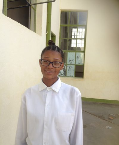 Click Angeline's picture to sponsor her - She is 18 years old, loves her friends and wants to be a teacher.