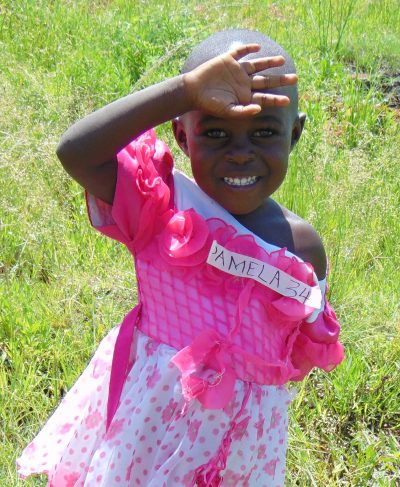 Meet Pamela - She is 4 years old, she loves nature and hopes to become a teacher one day. Click Pamela's picture to sponsor her!