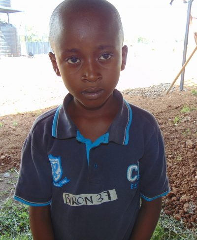 Click Biron's picture to sponsor him - He is 8 years old, loves games and hopes to become a bus driver.