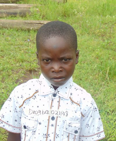 Click Drogba's picture to sponsor him - He is 10 years old, loves games and hopes to become a teacher.