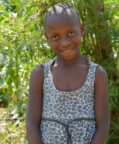 Click Sophia's picture to sponsor her - She is 8 years old, loves Swahili and hopes to be a doctor.