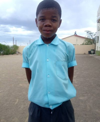 Click Gregorius's picture to sponsor him - He is 13 years old, loves learning Geography and hopes to become a teacher.