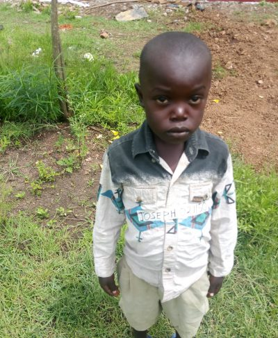 Click Joseph's picture to sponsor him - He is 6 years old, loves to learn math and hopes to become a doctor.