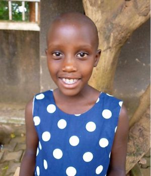 Click Jackline's picture to sponsor her - She is 6 years old and wants to become a doctor someday.