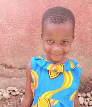 Click Merab's picture to sponsor her - She is 4 years old, loves food and hopes to become a nurse.
