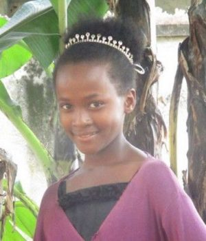 Click Victoria's picture to sponsor her - She is 13 years old and wants to become a health worker.