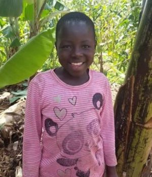 Click Miria's picture to sponsor her - She is 9 years old and wants to become a doctor.