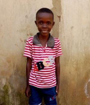 Click Jovan's picture to sponsor him - He is 8 years old, loves playing and hopes to become a doctor.