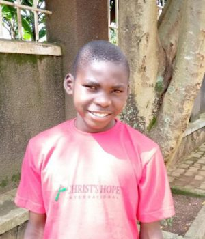 Click David's picture to sponsor him - He is 11 years old, loves food and hopes to be the president.