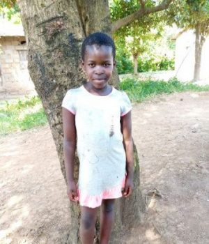 Click Florence's picture to sponsor her - She is 9 years old, loves playing, and wants to be a teacher.