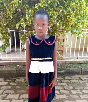Click Jane's picture to sponsor her - She is 7 years old, loves studying, and wants to be a nurse.