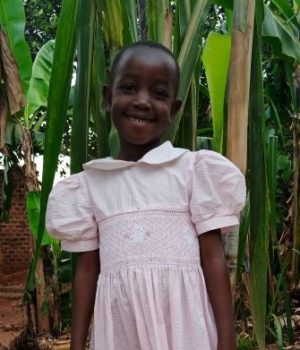 Click Mary's picture to sponsor her - She is 6 years old, loves drawing, and wants to be a teacher.