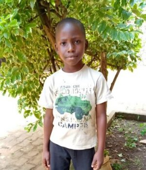 Click Shabibu's picture to sponsor him - He is 8 years old, loves math, and wants to be a judge.