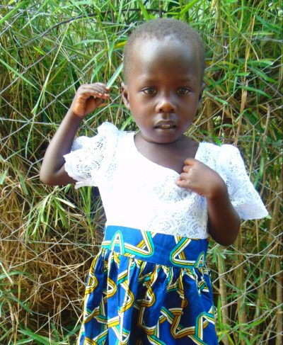 Click Mary's picture to sponsor her - She is 3 years old, loves coloring and wants to be a teacher.