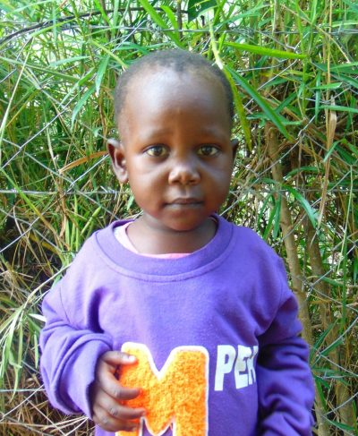 Click Brenda's picture to sponsor her - She is 3 years old and loves to play with her friends.