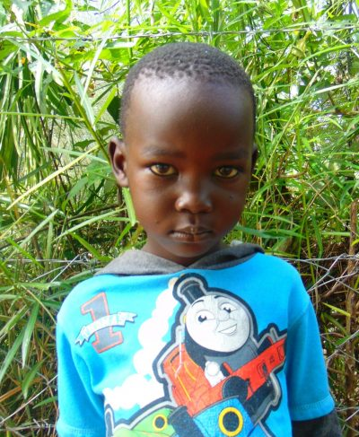 Click Joshua's picture to sponsor him - He is 5 years old, loves math, and wants to be a farmer.