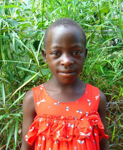 Click Ashley's picture to sponsor her - She is 8 years old, loves music, and wants to be a nun.