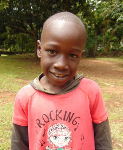 Click John's picture to sponsor him - He is 10 years old, loves physical education and wants to be a driver.