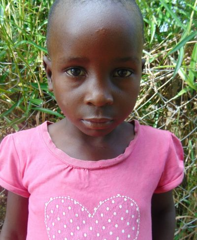 Click Rosemary's picture to sponsor her - She is 5 years old, loves coloring and wants to be a teacher.