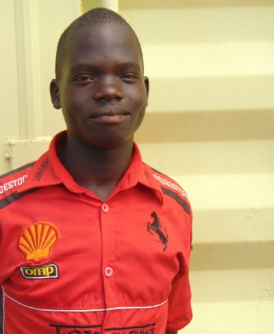 Click Fredrick's picture to sponsor him - He is 16 years old, loves to study and wants to be a doctor.