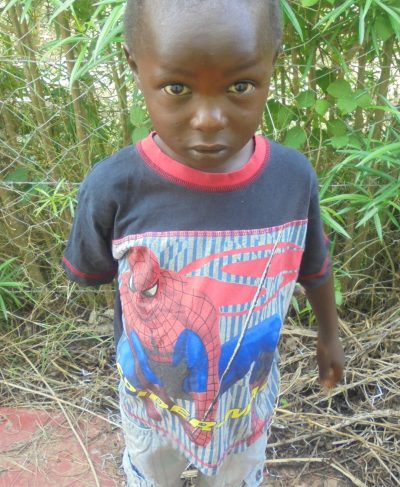 Click Jacob's picture to sponsor him - He is 4 years old, loves soccer, and wants to be an engineer.