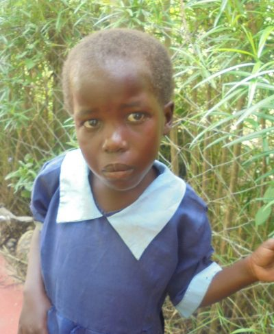 Click Leonida's picture to sponsor her - She is 4 years old, loves playing and wants to be a pilot.