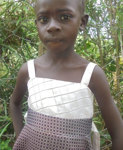 Click Euphemia's picture to sponsor her - She is 4 years old, loves writing, and wants to be a doctor.