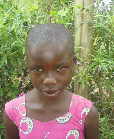 Click Judith's picture to sponsor her - She is 9 years old, loves reading and wants to be a teacher.