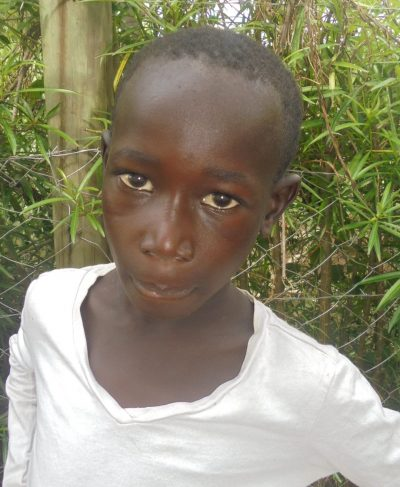 Click Austine's picture to sponsor him - He is 6 years old, loves football, and wants to be a pilot.