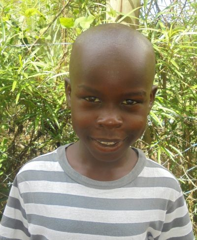 Click Ronald's picture to sponsor him - He is 10 years old, loves school, and wants to be a solider.