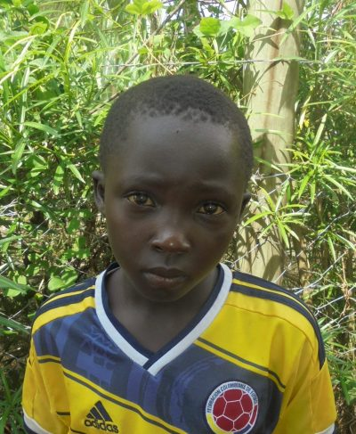 Click Felix's picture to sponsor him - He is 9 years old, loves math, and wants to be a doctor.
