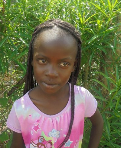 Click Betcy's picture to sponsor her - She is 6 years old, loves writing and wants to be a gospel musician.