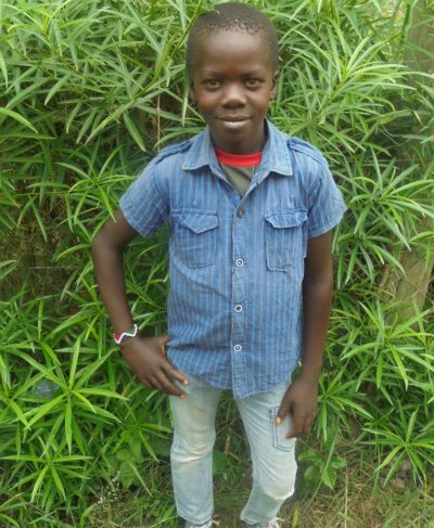 Click Fabian 's picture to sponsor him - He is 9 years old, loves math and wants to be an electrician.
