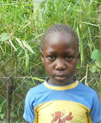 Click Sheila's picture to sponsor her - She is 9 years old, loves school and wants to be a teacher.