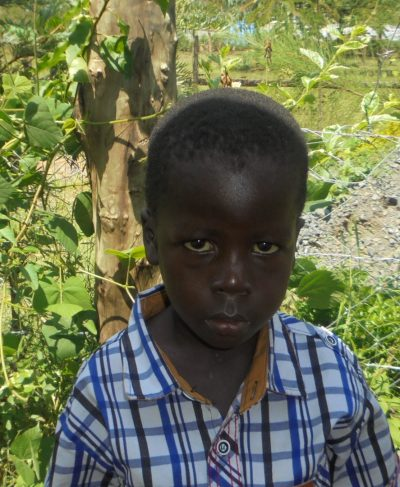 Click Eugene's picture to sponsor him - He is 5 years old, loves drawing, and wants to be a teacher.