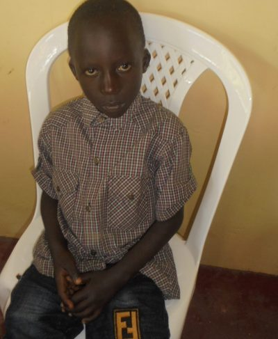 Click Paul's picture to sponsor him - He is 7 years old, loves soccer, and wants to be a pilot.