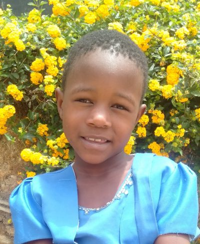 Click Annastazia's picture to sponsor her - She is 6 years old, loves playing and wants to be a nurse.