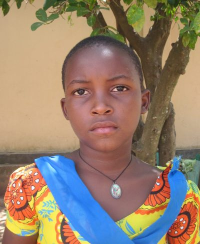 Click Zainabu's picture to sponsor her - She is 8 years old, loves writing and wants to be a nurse.